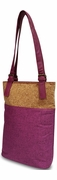 Double Wine Tote Bag for Woman