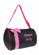 Embroidered Dance Tote Bag