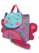 Embroidered Mini Butterfly Backpack | Personalized
