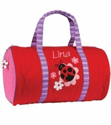 Embroidered  Mini Duffle Tote for Kids