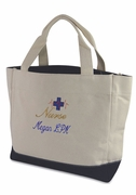 Embroidered Nurse Tote Bag | Monogram