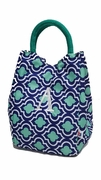 Geometric Lunch Tote - Letter A