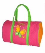 Girls Duffle Bag - Butterfly