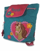 Girls Toddler Horse Backpack | Monogram | Personalized