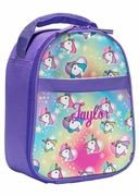 Girls Unicorn Lunch Tote   Personalized