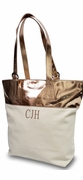 Glam Summer Canvas Tote Bag | Personalized