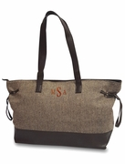 Herringbone Women's Carry All Tote Bag