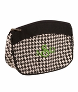 Houndstooth Cosmetic Bag