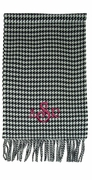 Houndstooth Winter Scarf