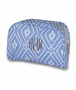 Ikat Pattern Cosmetic Bag | Monogrammed