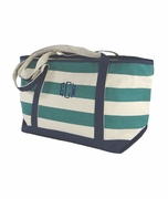 Large Canvas Boat totes   Personalized