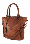Leather Shoulder Handbag Tote