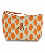 Leopard Accessory Cosmetic Case - Personalized