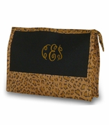 Leopard Make Up Bag | Monogram | Personalized