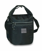 Logo Black Lunch Cooler Bag