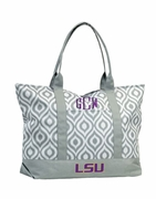 Louisiana State Tote Bag - Personalized