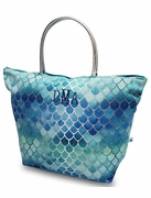 Mermaid Scales Metallic Beach Tote Bag - 3 Colors