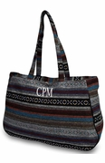 Monogram Aztec Tote Bags - 3 Colors