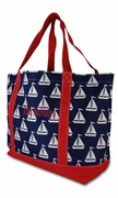 Monogram Boat Tote | Personalized