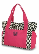 Monogram Canvas Diaper Bag
