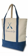 Monogram Canvas Lake Tote Bag