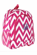 Monogram Chevron Backpack | Personalized