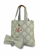 Monogram Diaper Bag - Paisley