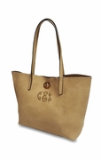 Monogram Faux Leather Totes | Personalized | 2 bag set