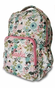 Monogram Floral Backpack