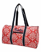 Monogram Floral Travel Duffel