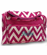 Monogram Girls Chevron Duffel Bag