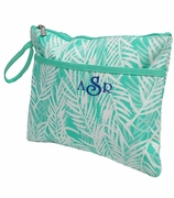 Monogram Ladies Accessory Bag | Palm Pattern
