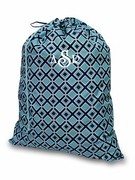 Monogram Laundry Tote Bag   Embroidered