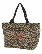Monogram Leopard Lunch Tote | Personalized