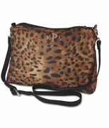 Monogram Leopard Print Cross Body