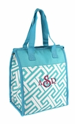 Monogram Lunch Cooler Tote Bag
