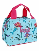 Monogram Mermaid Lunch Bag