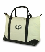 Monogram Oversized Duffle Bag | Personalized