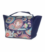 Monogram Paisley Lunch Bag