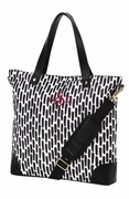 Monogram Pattern Tote Bag