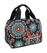 Monogram Starburst Lunch Tote