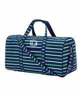 Monogram Stripe Duffel Bag