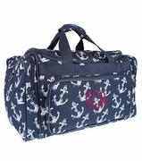 Monogram Weekend Duffle Bag | Nautical Theme