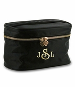 Monogrammed Cosmetic Travel Case
