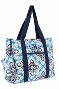 Monogrammed Floral Tote Bag | Personalized