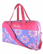 Monogrammed Girls Duffel Bag