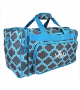 Monogrammed Weekend Bag - Quatrefoil