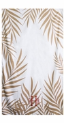 Palm Pattern Microfiber Beach Towel