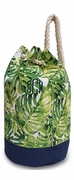 Palm Pattern Picnic Cooler Tote