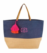 Personalized Beach Bags - Eco-friendly Jute
